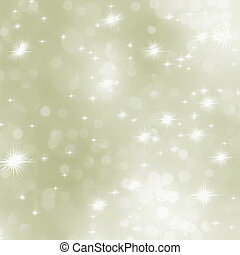Light gold abstract Christmas background. EPS 8 - Light gold...