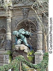 Medici fountain, the grotto of luxembourg Par