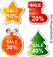 Christmas sale - Colour Christmas sale set for you site...