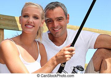 duo fishing