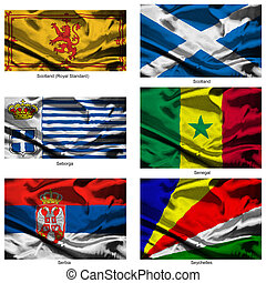 fabric world flags collection 33