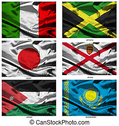fabric world flags collection 19 - Part of a collection of...