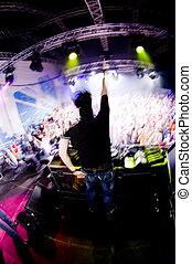 dj, concierto