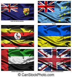 fabric world flags collection 40 - Part of a collection of...