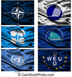 fabric world flags collection 45 - Part of a collection of...