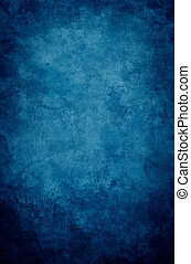 Blue Grunge Vignette - A textured, vintage paper background...