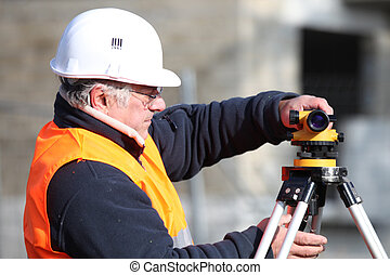 Surveyor with equipment