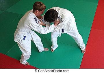 Judo, pelea
