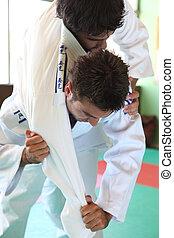 judo, movimento