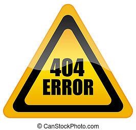 Error 404 icon - Error 404 glossy icon