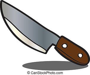 cuchillo, Bosquejo