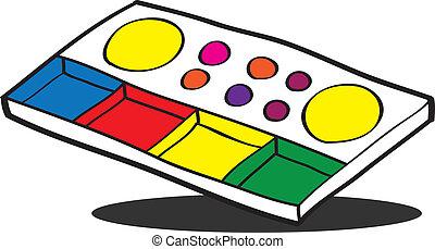 Color palette,EPS10
