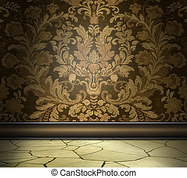 Rich Damask Wall
