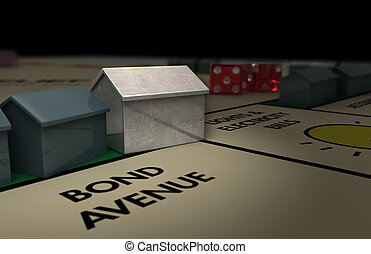 Iconic Boardgame House (dark) - A boardgame house...