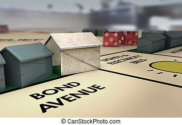 Iconic Boardgame House (light) - A boardgame house...