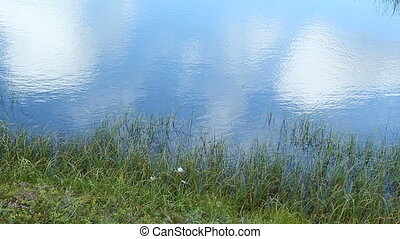 Pond - Mirrored Sky on Water Surface