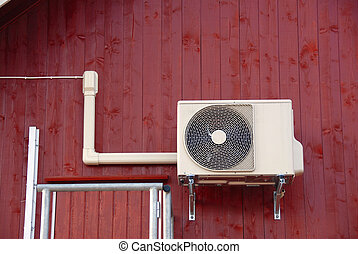 Aircondition Energy converter - Air to air heater Energy...