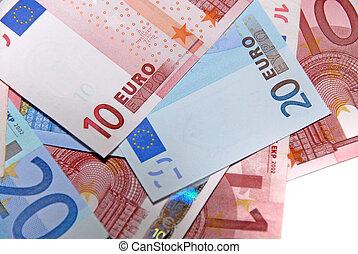 Euro collection - closeup