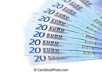 Euro collection - closeup