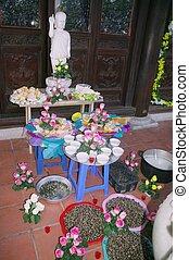 Offerings for the dead children