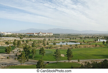 Desert Resort Golf Course
