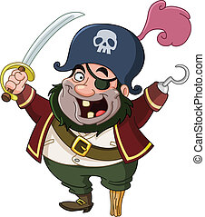 Pirate - Cartoon pirate