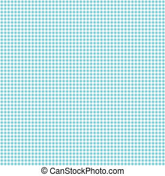 Tiny Blue & White Gingham Check - Seamless gingham of blue...