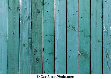 Blue wooden planks - Blue stained wooden planks background