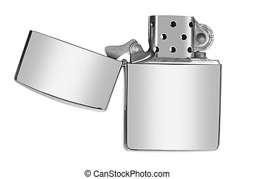 Lighter on White Background