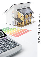 House Energy Efficiency Rating - Calculator, energy...