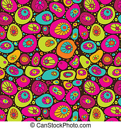 Abstract colorful background. - Seamless pattern can be used...