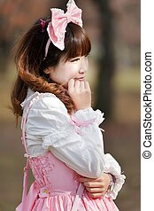 japanese cosplay girl - japanese in sweet lolita cosplay...