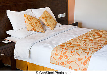 double bed room - interior of double bed room
