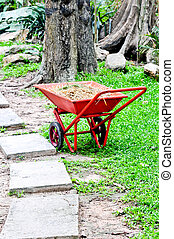 Wheelbarrow chromium - The old Wheelbarrow chromium