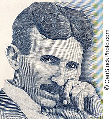 Nikola Tesla on 100 Dinara 2006 Banknote from Serbia Best...