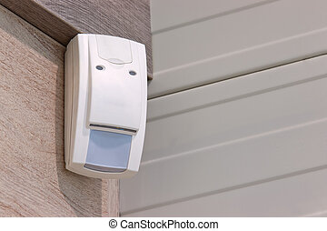 sensor to detect burglars - combined radar and passive ir...