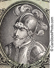 Sebastian de Belalcazar (1479 or 1480-1551) on 10 Sucres...