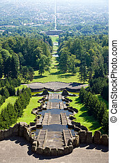 View from the Herkules in Kassel - A view from the Herkules...
