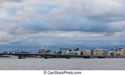 Annunciation Bridge, right side - Blagoveshchensky...