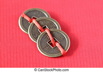 Fengshui chinese coins
