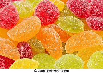colourful sweets  - Background made of colourful sweets