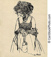 fancy woman 19 century. part 6
