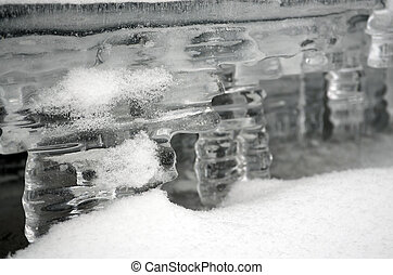 The ice - water in the solid state - Ice is sometimes...