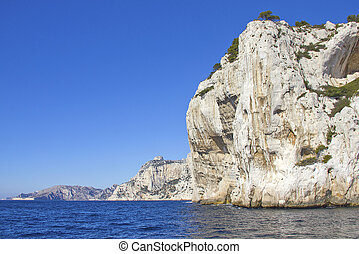 Calanques in Cassis, France - Calanques in Cassis, south of...