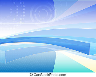 bg abstract - vector bluish abstract background...