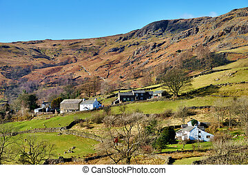 Picturesque Farming Settlement - Picturesque farm buildings...