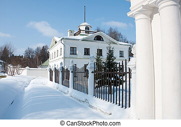 Manor of the great Russian poet of the 18th century - Lermontov