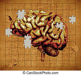 The Mystery of Consciousness - A puzzle features the image...