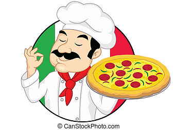 italiano, pizza