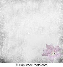 White beautiful wedding background